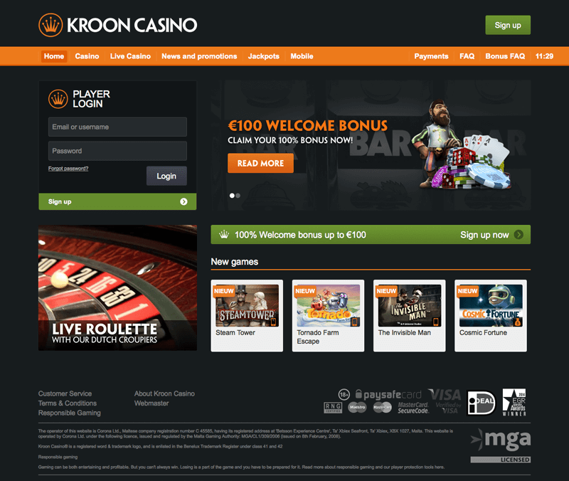 kroon_casino